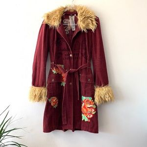 Johnny Was South America Embroidered Jacket